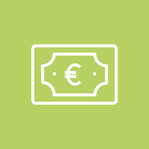 bill, business, currency, euro, money icon