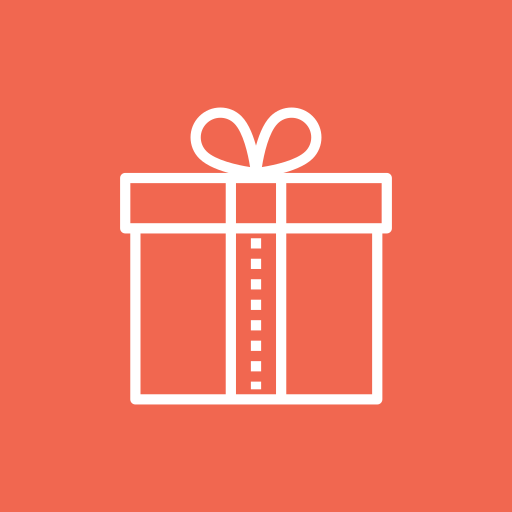 gift, giftbox, package, parcel, present icon