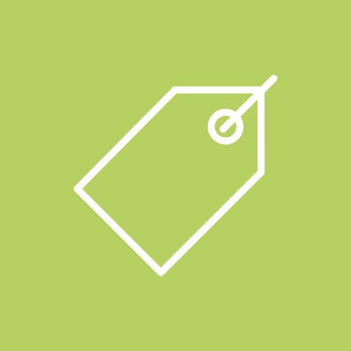 discount, label, price, sale, tag icon