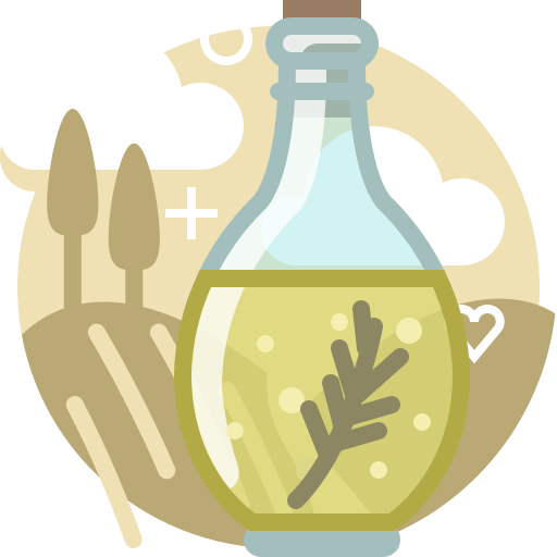 bottle, cooking, ingredients, oil, olive, tuscany, yumminky icon