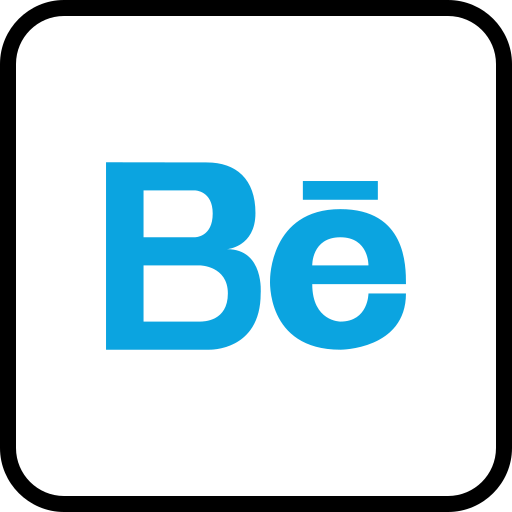 Behance, media, social icon - Free download on Iconfinder