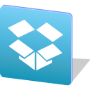 dropbox, file, logo, media, share, social, upload icon