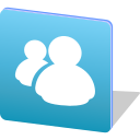 chat, logo, media, messenger, share, social icon