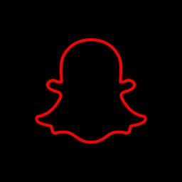 media, share, snapchat, social icon