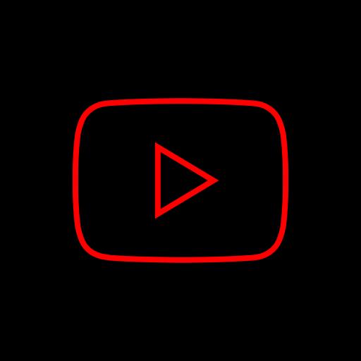media, play, share, social, youtube icon