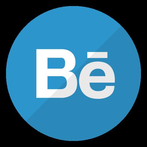 behance, logo, media, social, website icon