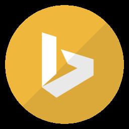 bing, logo, microsoft, search, search engine icon