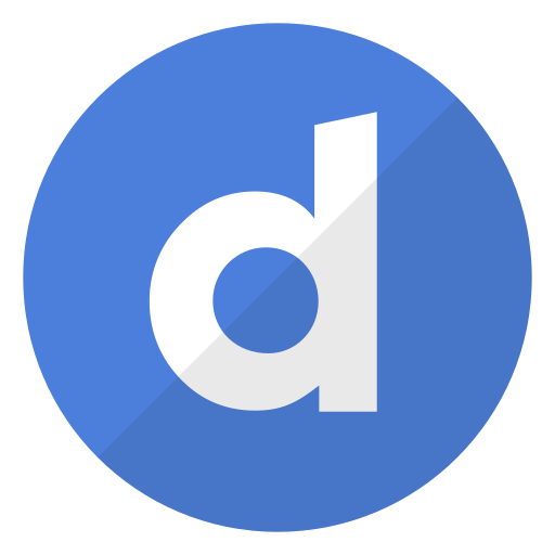 dailymotion, logo, media, video, watch, website icon