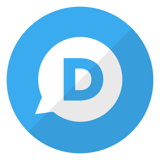 disqus, logo, website icon