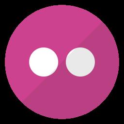 flickr, logo, website icon