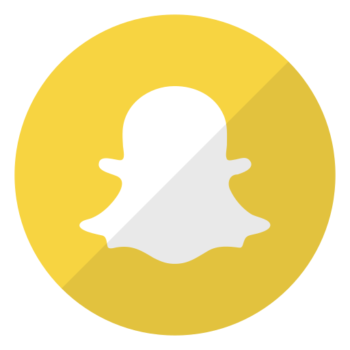 application, friends, photos, publications, snapchat, snaps icon