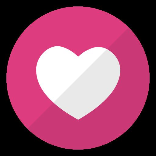 heart, logo, website, weheartit icon