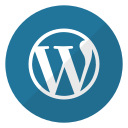 logo, website, wordpress icon
