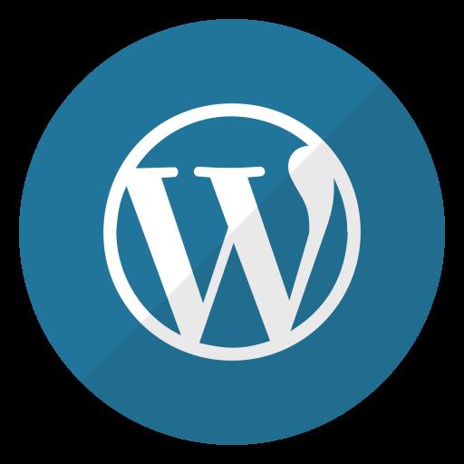 logo, website, wordpress icon
