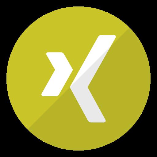 logo, xing icon
