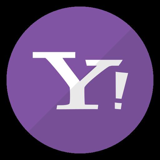 company, logo, search engine, website, yahoo icon