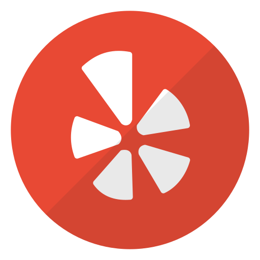 logo, yelp icon