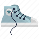 boots, clothes, converse, fashion, punk, shoes, wear icon