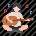 musician, singer, guitar, musical, woman
