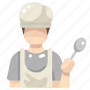 chef, cook, cooking, kitchen, people, restaurant icon