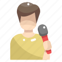 avatar, karaoke, musician, people, singer, singing, user