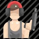 avatar, gun, handgun, people, pistol, pistols, weapons