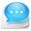 chat, comment, talk icon