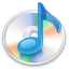 cd, itunes, music icon