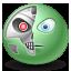 robot, terminator icon