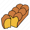 bakery, brioche, cooking, food, kitchen, pastry, restaurant icon