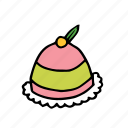 bakery, cake, dessert, food, french, pastry, sweets icon
