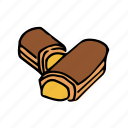 bakery, dessert, eclair, food, french, pastry, sweets icon