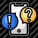 question, answer, faq, message, smartphone