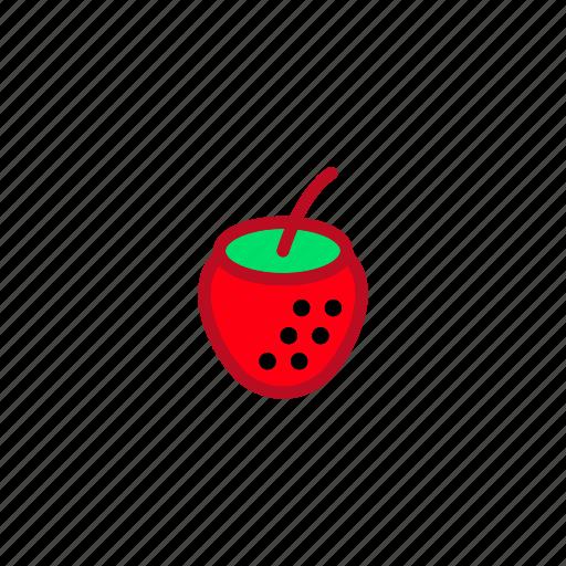 food, fresh, fruit, healthy, strawberry, sweet icon
