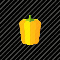 food, fresh, organic, pepper, vegetable, vegetarian icon