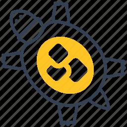 animal, sea, turtle icon