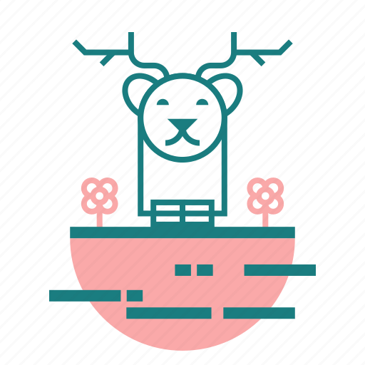 Animal, christmas, deer icon - Download on Iconfinder