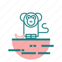 animal, banana, monkey icon