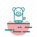 animal, bacon, pig icon