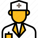 online healthcare, medical, hospital, doctor, avatar, man, profile