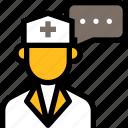 online healthcare, medical, hospital, doctor, chat, consultation, message