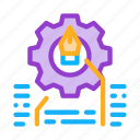 development, end, front, html, it, sphere, working icon