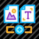development, image, it, side, sphere, text, web icon