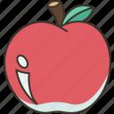 apple, juicy, fruit, healthy, diet