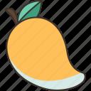 mango, tropical, sweet, fresh, juicy