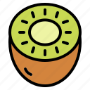 food, fruit, healthy, kiwi icon