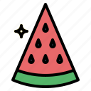 food, fruit, sweet, watermelon icon