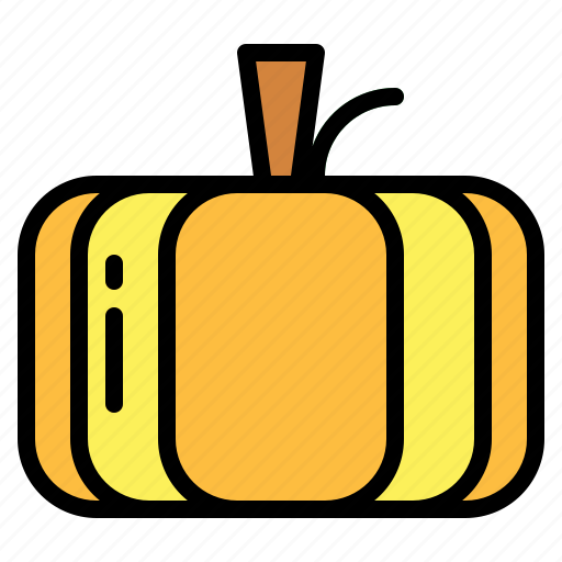 food, fruit, halloween, pumpkin icon