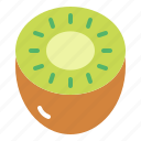 food, fruit, kiwi, vegetable icon