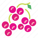 berries, berry, fruit, grape, grapes icon